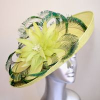 A Couture Lime Green Hatinator NR209-10542